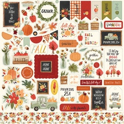 CBHEA122014 Hello Autumn Dekoration stickers