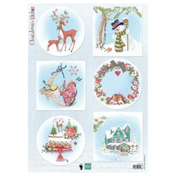 EWK1280 klippark Christmas Wishes Marianne Design