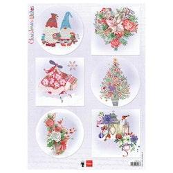 EWK1279 klippark Christmas Wishes Marianne Design