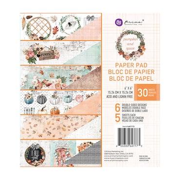 647773Prima Pumpkin and spice block Spice 6x6