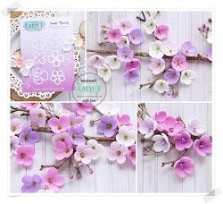 Small Flowers - DIES Lady E små söta blommor