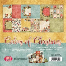 CPB-CC30Block Coulors of Christmas 12x12