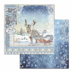 SBB718- Stamperia  Winter Tales  12x12