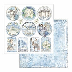 SBB721- Stamperia  Winter Tales  12x12