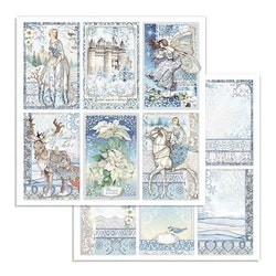 SBB722- Stamperia  Winter Tales  12x12