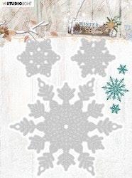 STENCILWC324 Winter Charm  Dies