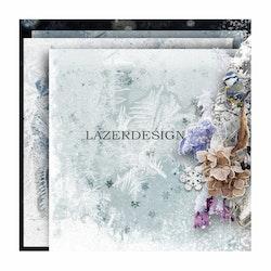 2020-51Lazerdesign Julpapper 14,5x14,5 cm