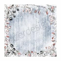 2020-67Lazerdesign Julpapper 14,5x14,5 cm