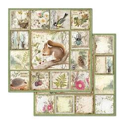 CBB655 Stamperia Framed Forest