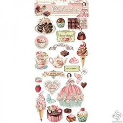 DFLCB11Stamperia Sweety Chipboard