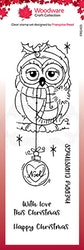 FRS401Clearstamp Bauble Owl