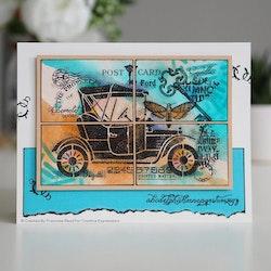 FRS840Clearstamp Vintage Car