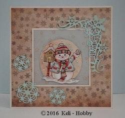 YCD10073Dies Snowflake and star