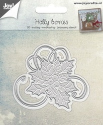 6002-0944Dies Holly berries
