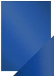 9469E Craft Perfect Cobalt Velour Satin Effekt  5-pack