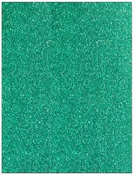 9944e Glitter Card A4 Turkos