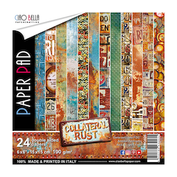 CBQ026 Collateral Rust pappersblock 6x6