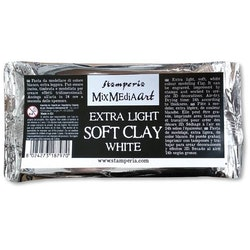 K3P44Extra Light Soft Clay White 160 gr