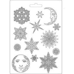 K3PTA473 Stamperia Maxi Mould Winter Tales Snowflake