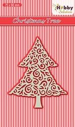 HSDJ015Dies Christmas tree