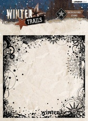 SLWT305Clearstamp Winter Trails