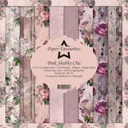 PF122BLOCK Pink Shabby Chic