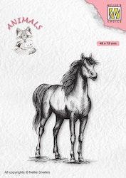 ANI019 Clearstamp Häst