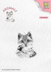 ANI021 Clearstamp Pussycat