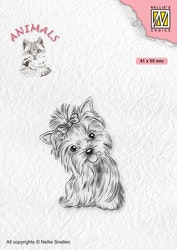 ANI020 Clearstamp Yorkshire terrier