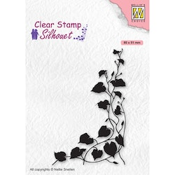 SIL079 Clearstamp Silhouette Ivy