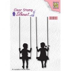 SIL076 Clearstamp Silhouette Barn gungar