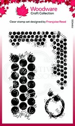 FRM0015 Clearstamp Grungy Dots