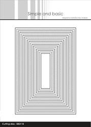 SBD118DIES Ramar rektangel