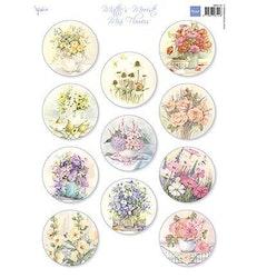 MB0190 Klippark Miniflowers A4