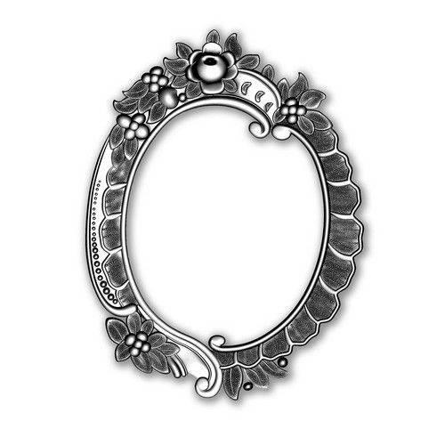 665016SIZZIX 3D Embossingfoder/Die Floral Frame