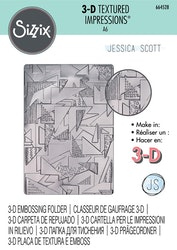 664528SIZZIX Embossingfolder Doodle Triangles