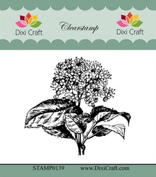 STAMP0139CLEARSTAMP Hortensia