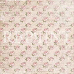 RP0325 Papper 30,5 x 30,5 cm Music and Roses