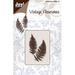 6003-0083DIES Vintage Flourishes Fern