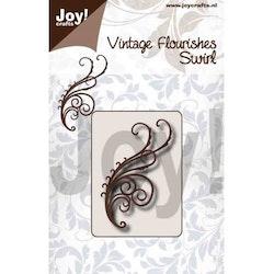 6003-0092DIES Vintage Flourishes Swirl