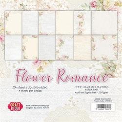 CPB-FR15BLOCK Flower Romance 15 x 15 cm