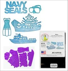 B514DIES Navy