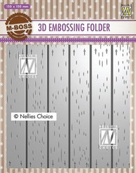 EF3D025Embossingfolder Stripe Pattern-2
