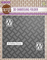 EF3D024Embossingfolder Stripe Pattern-1