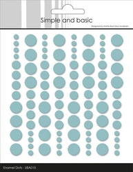 SBA010 Enamel dots Mint