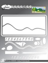 BLD1352DIES Slimcard Landskap