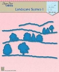 DB010DIES Landscape scenes 1