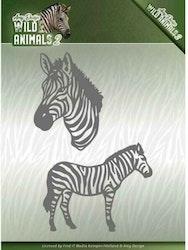 ADD10178DIES Wild Animals Zebra
