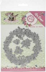 ADD10166DIES  Circle of Roses