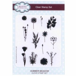 CEC780Clearstamp Summer meadow